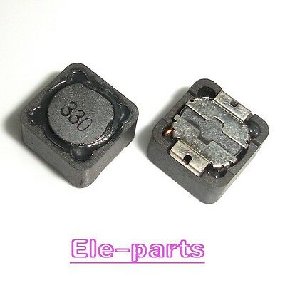10pcs 33uH 330 3A Shielded Power Inductor CD127 CR127R 12mm X 12mm X 7mm