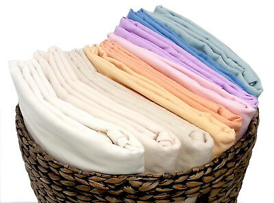 2x 100% Cotton Baby Cotbed Cot Bed Flat Bedding Sheets 100 x 150cm Multi Colours