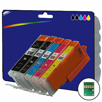 Choice of Any 2 Compatible Printer Ink Cartridges for the Canon 550-551 Range