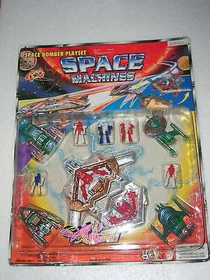 80's Vintage Micro Galaxy Monster Multimac Mini Space Machines Playset Mib