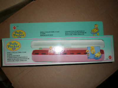 1989 Polly Pocket Ring Collecting Case Mib Mint Sealed