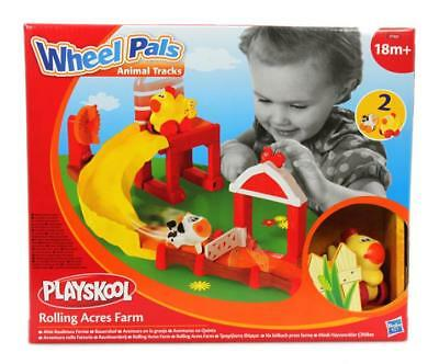 Rutsche Playskool Wheel Pals Animal Tracks, Set Bauernhof, ab 18 Monaten