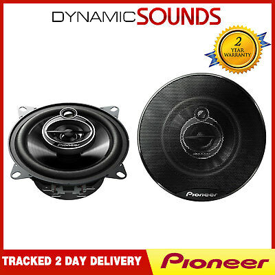 "Pioneer 400 Watts 4"" Inch 10 cm 3 Way Car Front or Rear Door Dash Speakers Pair"