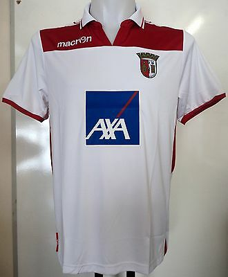 Sporting Braga 2012/13 Boys 3Rd Shirt By Macron Size Junior Large Brand New