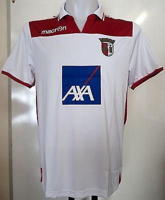 Sporting Braga 2012/13 3Rd Shirt By Macron Size Small Brand New With Tags