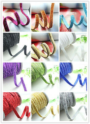 "50yard 3/8""blink velvet ribbon trim gift belt DIY party wedding craft"
