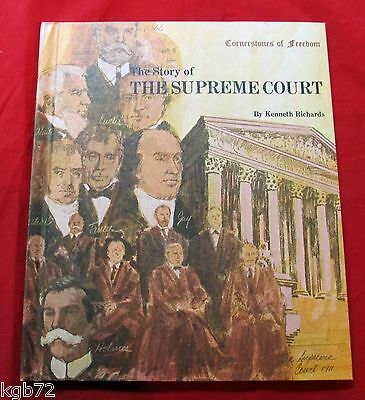 Cornerstones Of Freedom : The Story of the Supreme Court Hardcover 1970