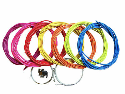 Brake & Gear Cable Set Universal Inners/Outers/Ferrules Various Colours CAB-SIS