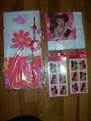 6pc Lot 1997 Party Express Hercules Megara Multi-color Birthday Party Goods NOS