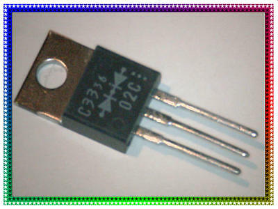ESAC33-02C, 200V 8A, Fast Recovery Rectifier Diode, Fuji Electric, TO-220, Qty 5