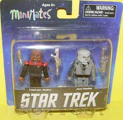 Star Trek Minimates DS9 Captain Sisko & Jem´Hadar