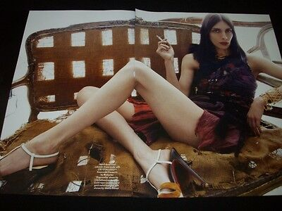 JAMIE BOCHERT clippings ** model Marc Jacobs Furla Gucci Nars ads