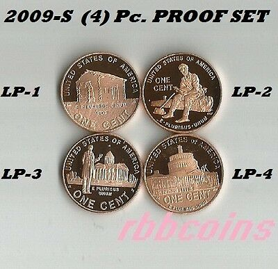 Complete Set 2009-S Proof Lincoln Bicentennial Cents - $2.95 Max Shipping