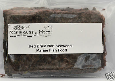 Dried Nori Seaweed Marine Fish Food Green and Dark Red