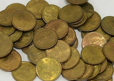 UNC Lot of 10 India Republic Coin 1 Paisa 10 coins of different years