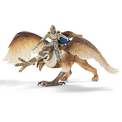 Schleich Griffin Rider Plastic Model Figure NEW