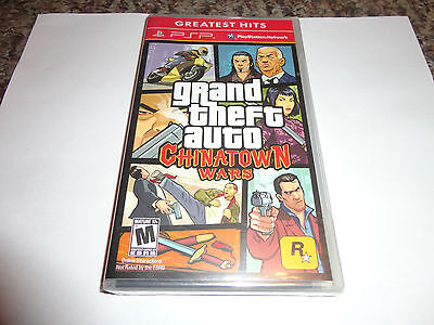 Grand Theft Auto: Chinatown Wars  (PlayStation Portable, 2009) NEW PSP
