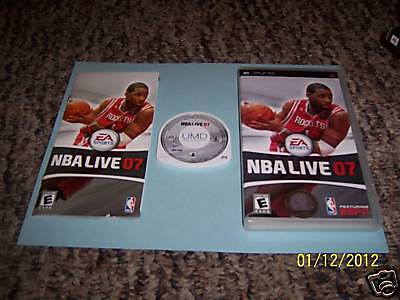 NBA Live 07 (PlayStation Portable) psp complete