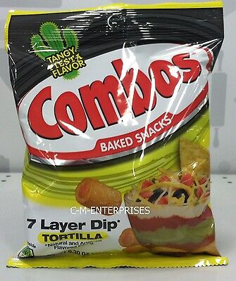 Combos 7 Layer Dip Tortilla Baked Snacks 6.30 oz