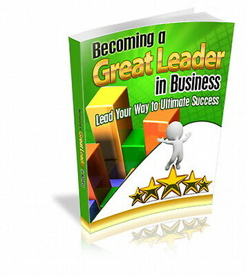 Becoming A Great Leader In Business; Lead Your Way To Success, Climb Ladder (CD)