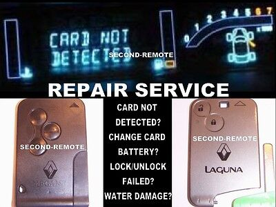 Repair Service!Card not detected?Replace card battery?Water damaged? I CAN HELP!