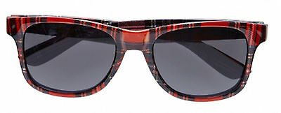 Tartan Glasses Scottish Wayfarer Sunglasses Scotland 70s Punk Fancy Dress