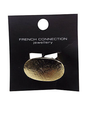 Wholesale Joblot 10 French Connection Gold Foil Rings Fashion Jewellery (Sjadc)