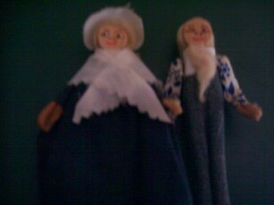 Vintage Clothes Pin Dolls