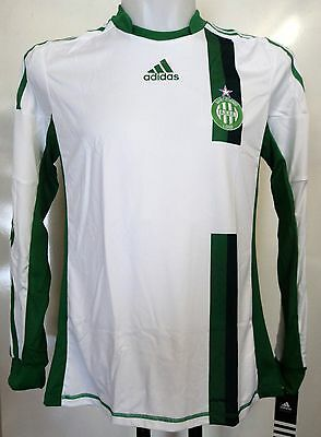 St Etienne 2012/13 Player Issue L/s Away Shirt By Adidas Xl Brand New