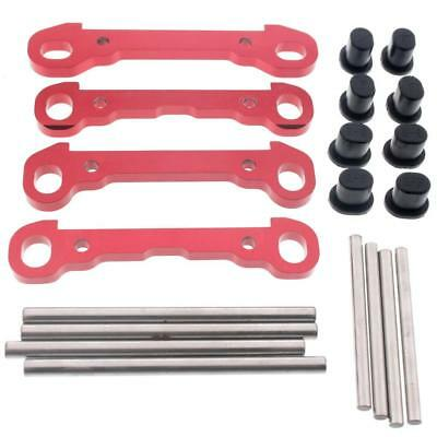 Losi 1/5 Desert Buggy XL STEEL HINGE PINS, RED ALUMINUM BRACES * Suspension arms