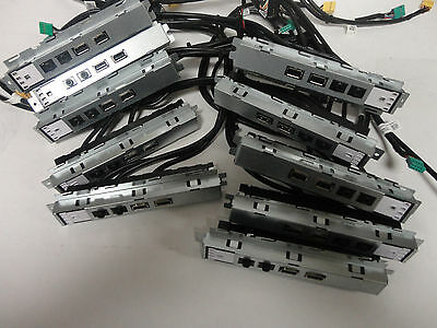Lot of 10 Dell OptiPlex 390 Front I-O Panels with USB Audio LED R4V2G New other