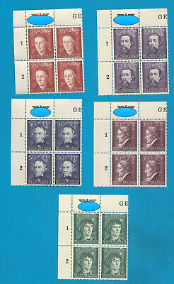Occupation of Poland 96-100 cpl. set with margin and national sign  ** !!
