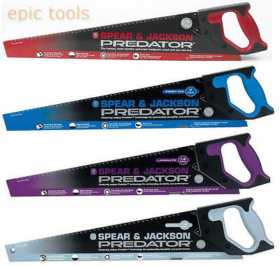 "Spear & Jackson Predator Saw,22"" Universal/First Fix/Second Fix,20""Laminate/UPVC"