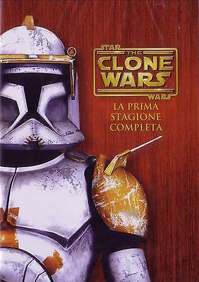 Star Wars - The Clone Wars - Stagione 01  4 Dvd
