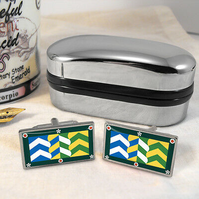 Cumbria County Flag Cufflinks & Box