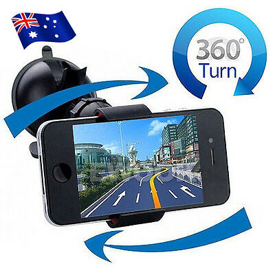 Universal Car 360 Rotate Windshield Dash Mount Holder Stand For iPhone 6 7 plus