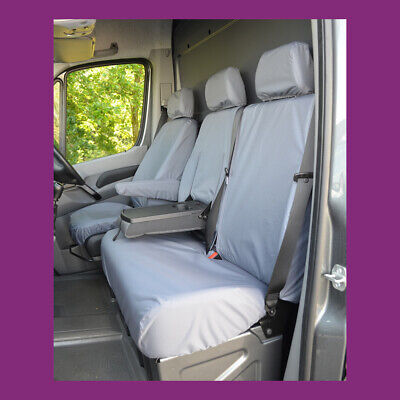 VW VOLKSWAGEN CRAFTER VAN 2017 TAILORED WATERPROOF FRONT SEAT COVERS 132