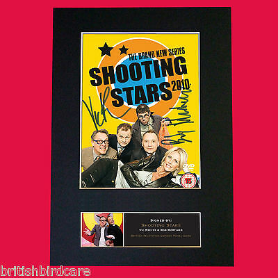 SHOOTING STARS Mortimer Reeves Eureka Autograph Mounted Photo Repro A4 Print 490