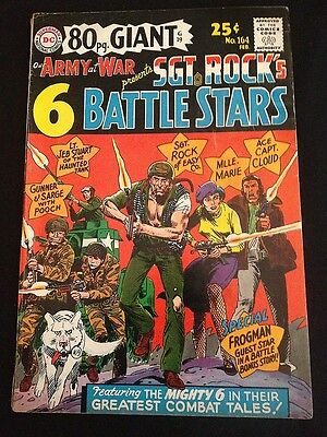 OUR ARMY AT WAR #164 VG+ Condition