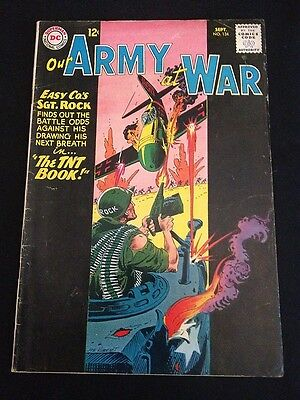 OUR ARMY AT WAR #134 VG Condition