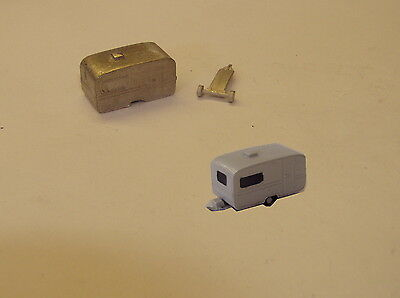 Graham Avis N Gauge N Scale C27u Touring caravan castings require painting