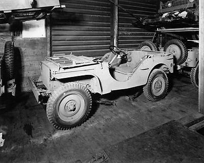1941 Ford GPW Military World War II Jeep Photo Poster zu473