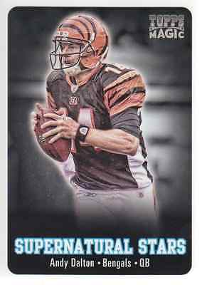 2012 Topps Magic Supernatural Stars #SSAD Andy Dalton - NM-MT
