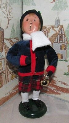 BYERS CHOICE Cries of London Boy with Glass Ornament 2013 *
