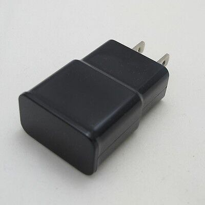 New Black High Powered Rapid 2 Amp Travel Wall Charger for Micro USB Phones