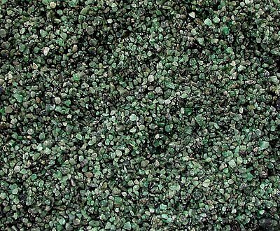 1/4 Ounce Natural No Dye Green Emerald Jewelry Craft Inlay Chip NO POWDER