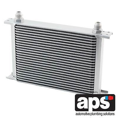 """APS Gearbox / Diff / Engine Oil Cooler 25 Row 235mm 3/4"""" BSP Male Fittings"""