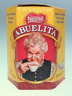 Nestle Abuelita Authentic Mexican Hot Chocolate Drink Tablets 19 oz