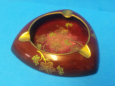 Vintage Carlton Ware Rouge Royale Grapes Leaves Design England