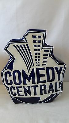Comedy Partners Central 2000 Cobalt Blue Limited Production Cookie Jar G482